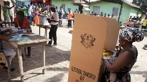 Ghana Voting