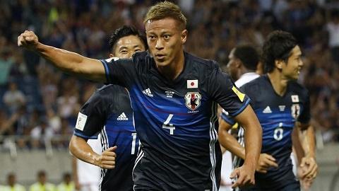 Japan's top footballer, Keisuke Honda