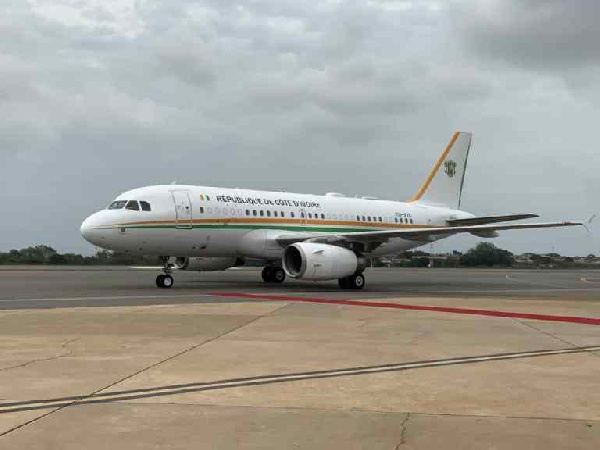 Photos: Ivory Coast, Nigeria, Niger show off presidential jets at ECOWAS summit in Accra. 57