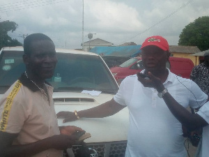 MP for Ellembelle, Emmanuel Armah-Kofi Buah