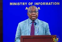 Health Minister, Kwaku Agyeman Manu