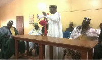 Mahama cautions Zongo youth against violence