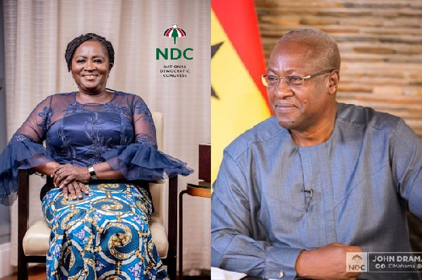 'I'll work to ensure a resounding victory' – Opoku-Agyemang assures Mahama
