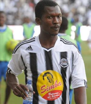 ghana's Nii Adjei of TP Mazembe