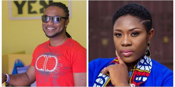 Emelia Brobbey hits the studio with Prince Bright for another hit song