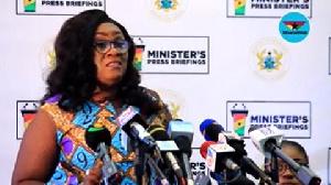 Mavis Hawa Koomson, former Special Development Initiative Minister