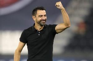 Xavi Hernandez is coach of Al Sadd, Dede's new club side
