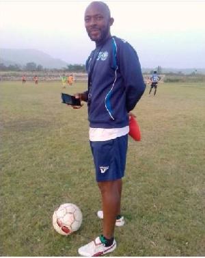Liberty Professionals coach, David Ocloo