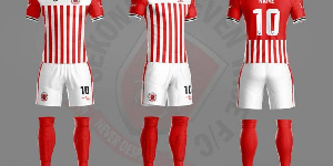 The new kit by Strike