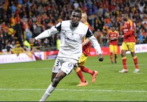 Ghanaian forward Kwame Nsor