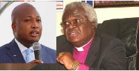 Samuel Okudzeto Ablakwa and Rev. Prof. Emmanuel Martey
