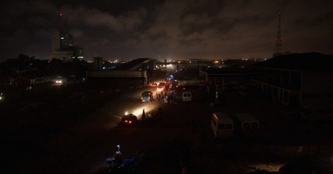Power outage beyond our control - ECG