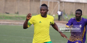 Joseph Esso is the latest Dwarfs player to join Hearts