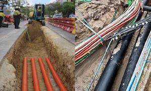 Ashanti Region alone recorded over 370 fibre cuts