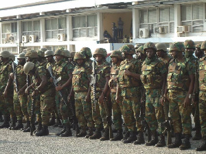 File Photo: Soldiers have stormed the community to identify the people who assaulted the soldiers