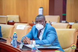Deputy Minister of Finance, Dr John Kumah