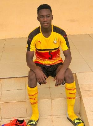 Ghanaian teenager Eugene Adjei Frimpong