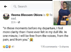 Ifeoma Blossom Obiora was married off to her husband at the age of 15