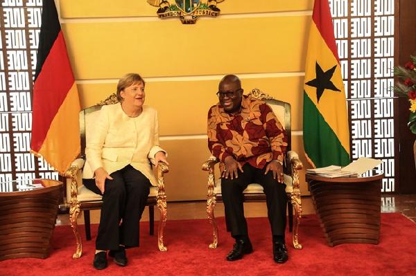 Angela Merkel fulfils promise of 1.5 million AstraZeneca vaccines to Ghana