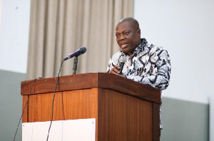 Prof. John Gatsi, Dean of the School of Business, University of Cape Coast