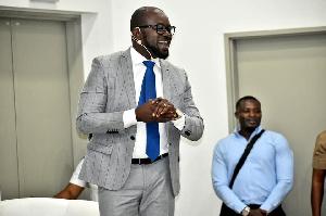 Ghana FA presidential aspirant, Kurt Okraku