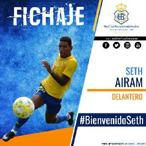 Ghanaian international Seth Airam