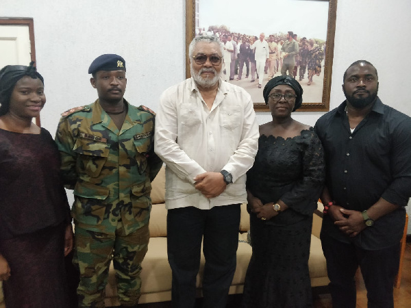 Ex-President Rawlings to attend funeral of Dzifa Gomashie\'s husband