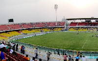 A photo of the Accra Sports Stadium