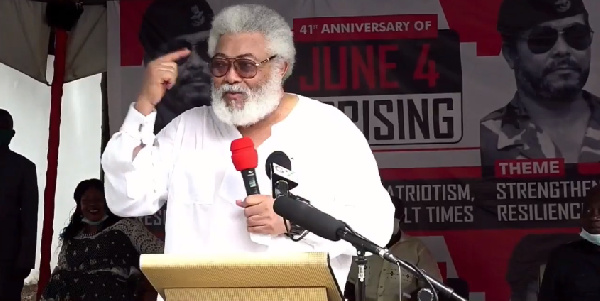 Underestimate coronavirus at your own peril – Rawlings to Ghanaians