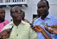 Acting national chairman of the New Patriotic Party Freddie Blay