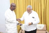 Kojo Bonsu sent his notification of intent to the General-Secretary of NDC yesterday