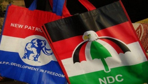 Flags of the NPP and NDC