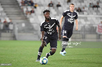 Enock Kwateng of Bordeaux during the friendly match between Bordeaux and Genoa