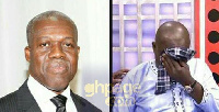 The late Amissah-Arthur and Kennedy Agyapong