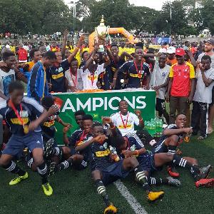 Ofori Academy Foundation produced the tournament's MVP in Williams Owusu