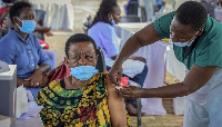 COVID-19  vaccination center Kampala