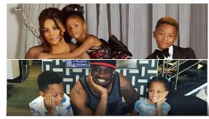 The Peter Okoye family