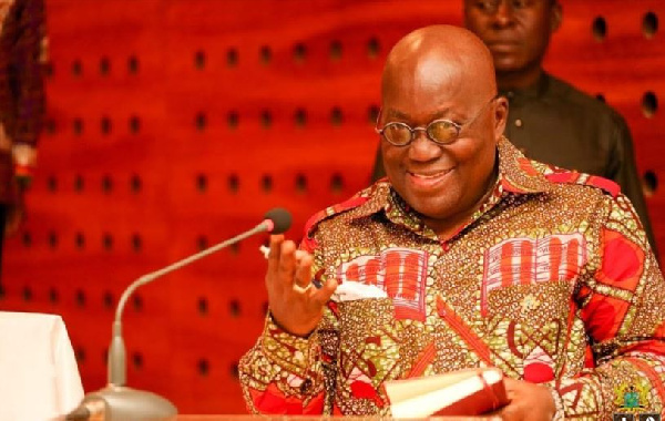 President Akufo-Addo commits support to Institute of Planners