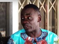 Actor Akwasi Boadi commonly known as Akrobeto