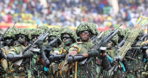 President Akufo-Addo says Peacekeeping soldiers will be paid while on battlefield