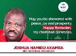 Joshua Akanba, National Organiser, NDC