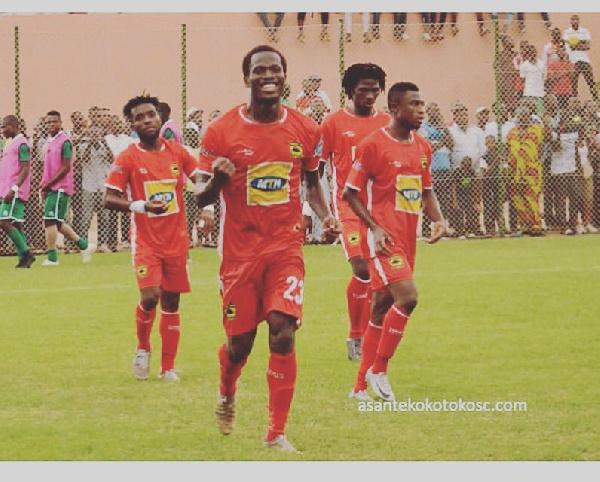 Asante Kotoko striker Abdul Fatawu Safiu