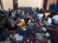 The immigrants will undergo checks with the Ghana Immigration Service