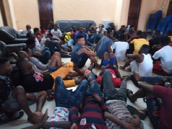 36 foreigners, two Ghanaians arrested for using unapproved routes into Ghana
