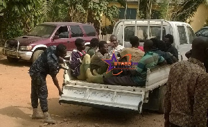 File photo: Illegal Miners arrested by Operation Vanguard Taskforce