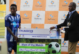 GFA has secured a new deal for MOTM winners