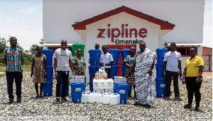 Zipline is helping host communities to fight the spread of coronavirus