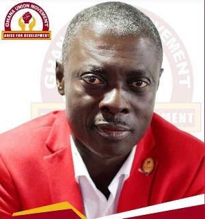 Flagbearer of the Ghana Union Movement, Rev Christian Kwabena Andrews known as Osofo Kyiri Abosom