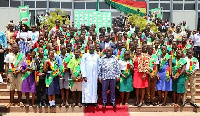 The award is given to whoever obtains the best results in the BECE