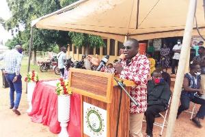 Martin Agyei Mensah-Korsah, the Deputy Minister for Regional Re-organisation and Development